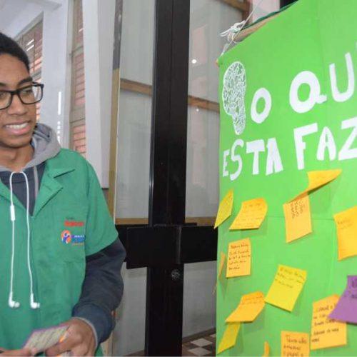 Notícia-Jovens exercitam a cidadania 3