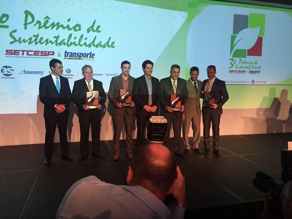 RG Logística e Transporte conquistou o 1º lugar no Prêmio de Sustentabilidade SETCESP & Transporte Moderno com o case do Projeto Pescar