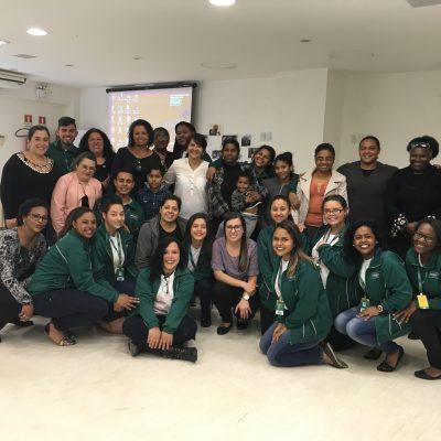 Unidade Projeto Pescar Unimed Porto Alegre - Reunião dos responsáveis