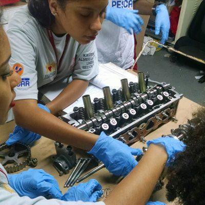Unidade Projeto Pescar Zensul - Atividade de mecânica